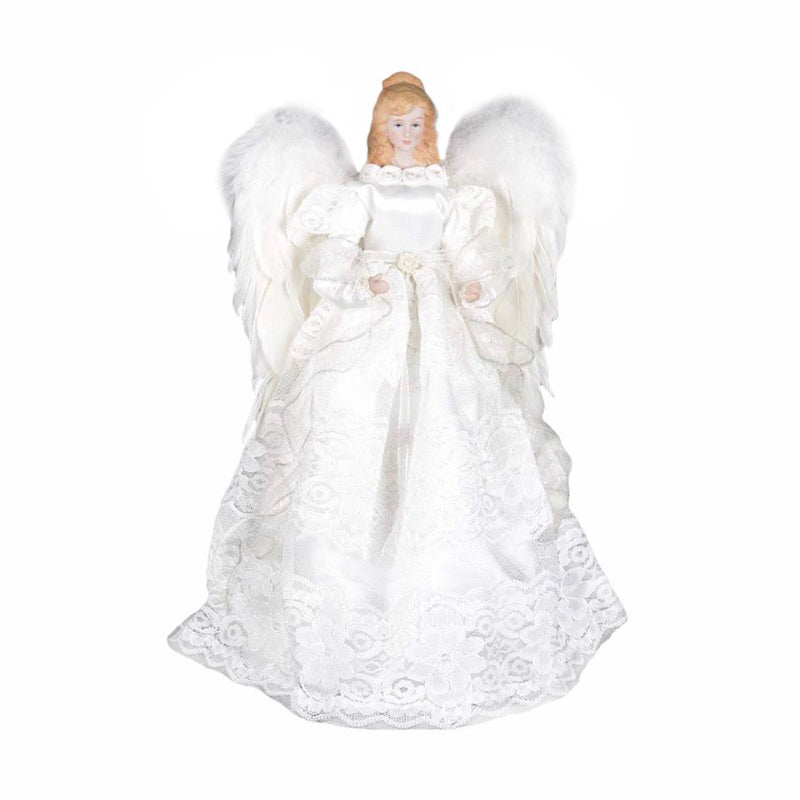 White Angel with Feather Wings