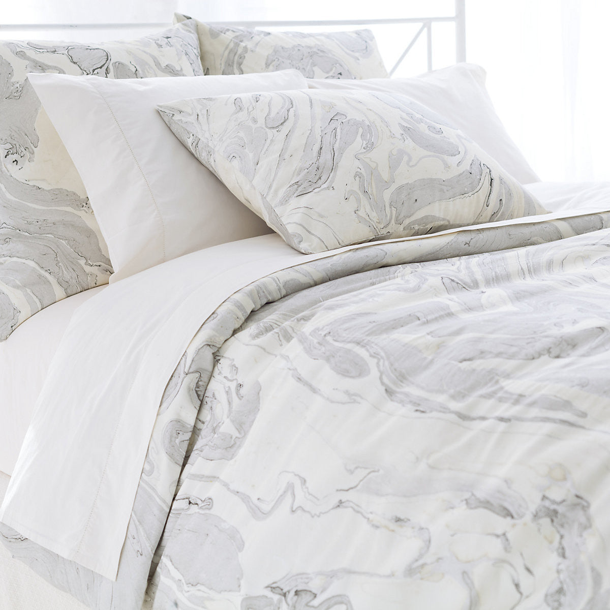 Marble Pattern Duvet - Natural, PCH-Pine Cone Hill, Putti Fine Furnishings