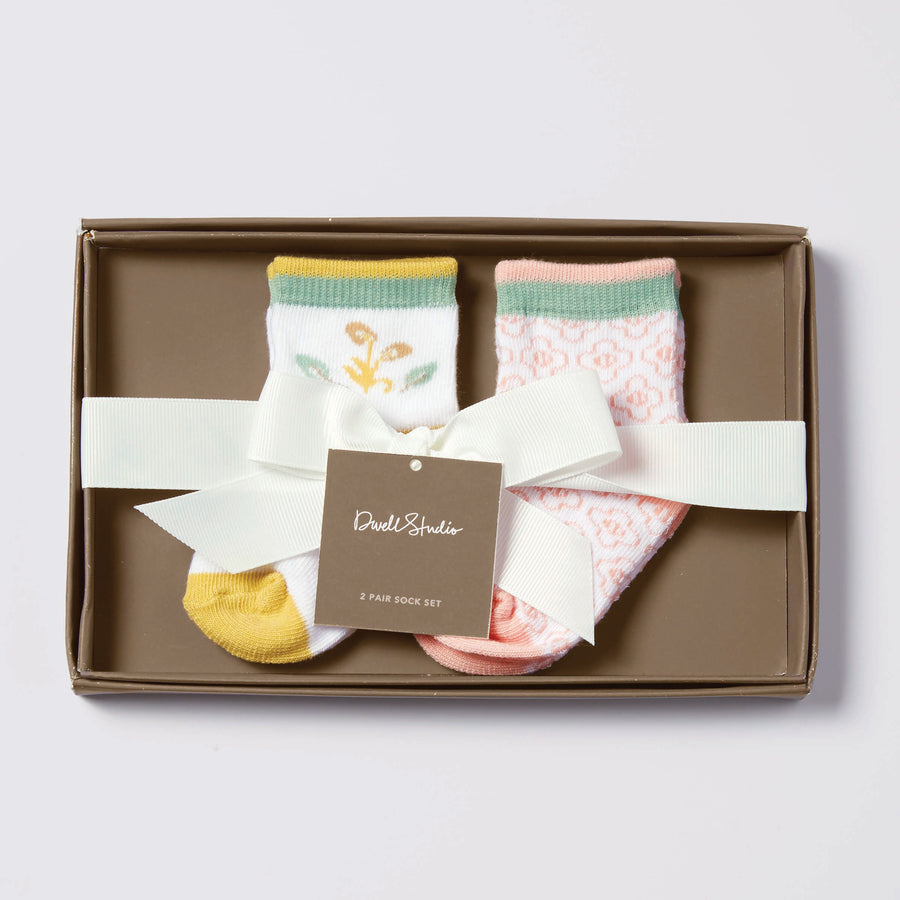 "Dwell Studios ""Boheme"" Boxed Set Socks"