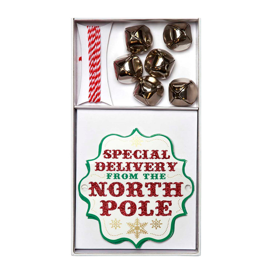 """Special Delivery from the North Pole"" Gift Tags"