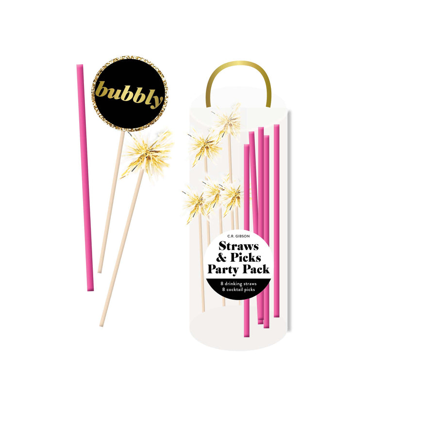 Straws and Picks Party Pack
