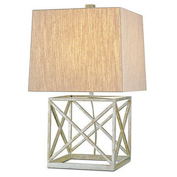 Currey & Company Square  X  Base Table Lamp