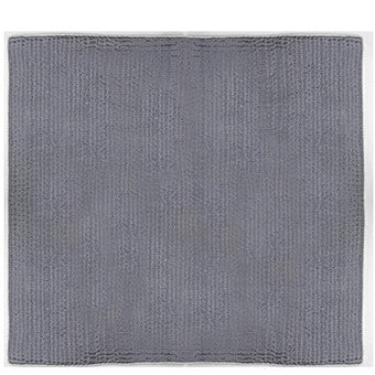 Designers Guild Quilt Chenevard Chalk & Graphite-Soft Furnishings-DG-Designers Guild-Standard Quilt 230 x 230cm-Putti Fine Furnishings