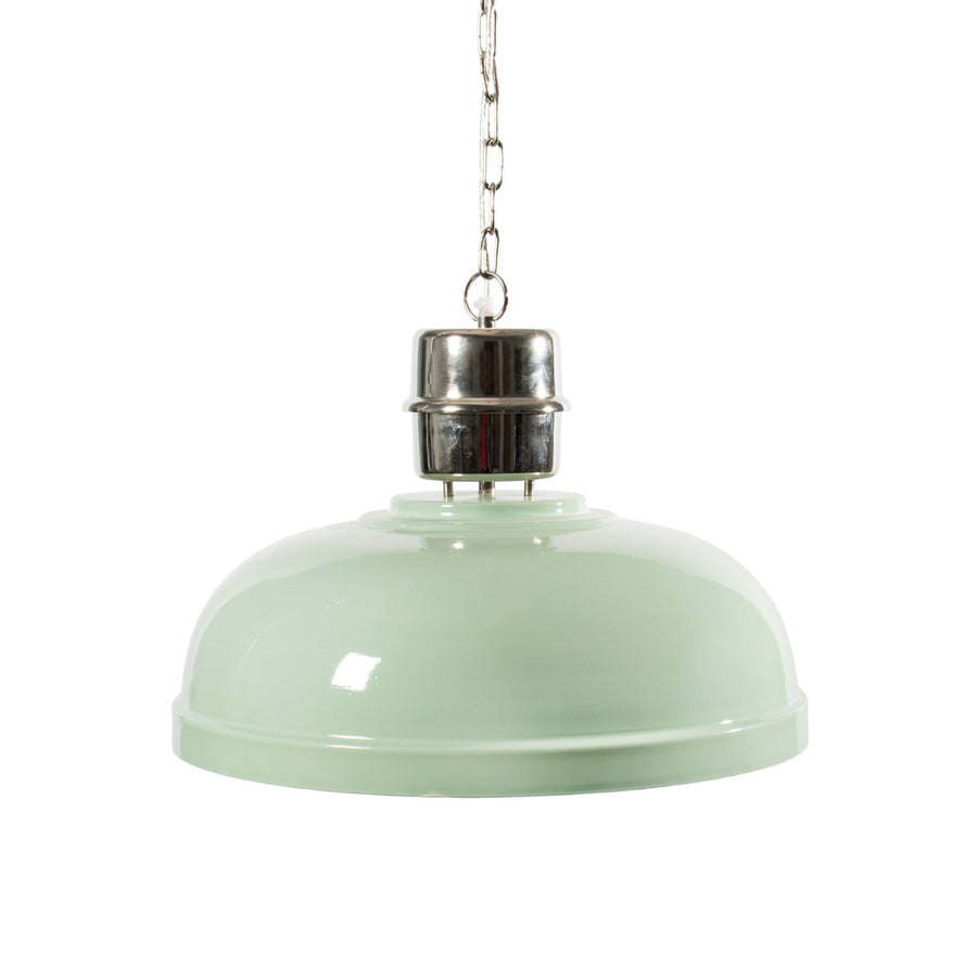 Aqua Enamel Ceiling Lamp  - Putti Fine Furnishings Canada