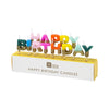 "Birthday Brights Rainbow ""Happy Birthday"" Candles 