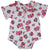 Red Rose Baby Grow