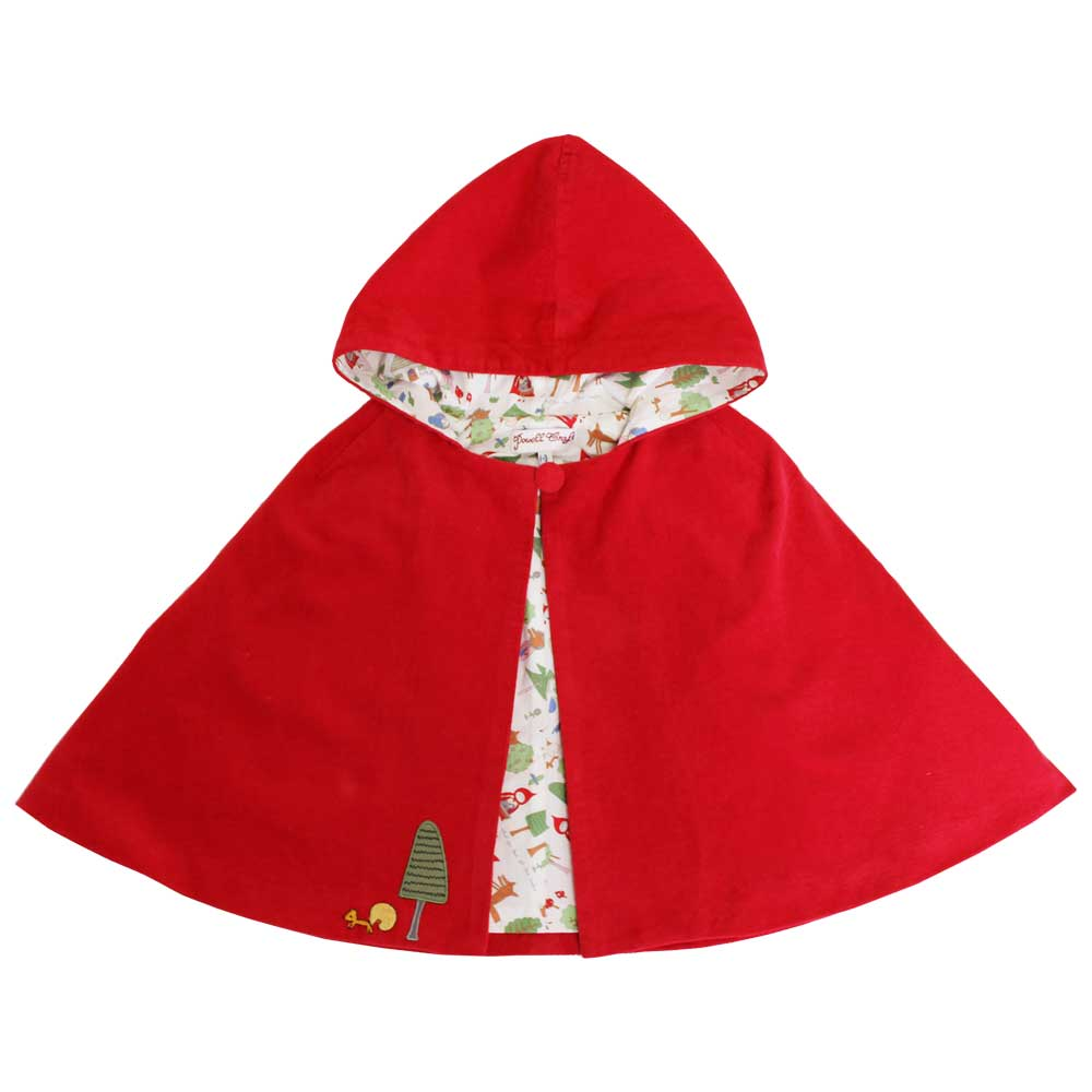 """Red Riding Hood"" Hooded Cape"