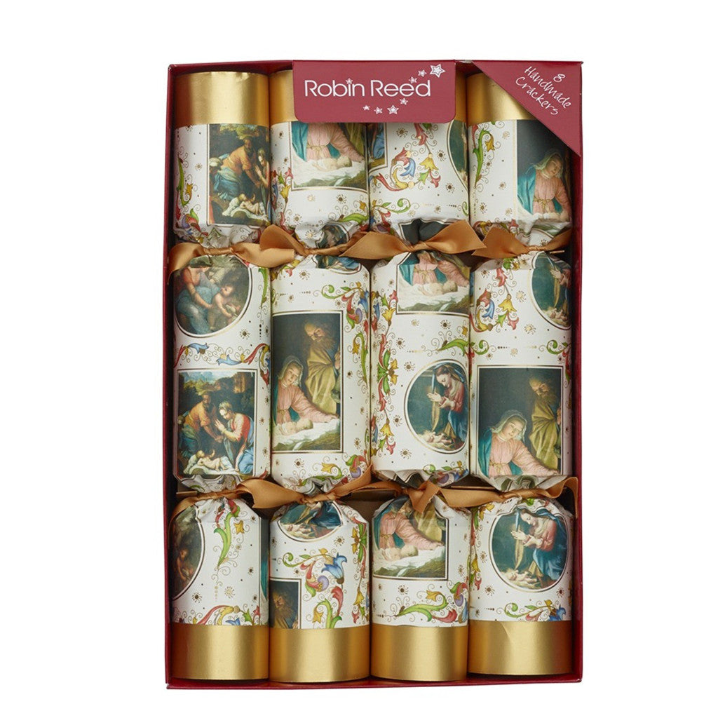 "Robin Reed ""Nativity"" Christmas Crackers-Accessories-Robin Reed - Paper E Clips-Putti Fine Furnishings"