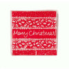 Red & White Christmas Amuse Bouche Napkin, TT-Talking Tables, Putti Fine Furnishings