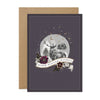 """Warm Winter Wishes"" Deer Globe Christmas Card Pack"