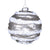 Glittered Pearl Ridged Glass Ornament -  Christmas Decorations - Christmas Tradition - Putti Fine Furnishings Toronto Canada