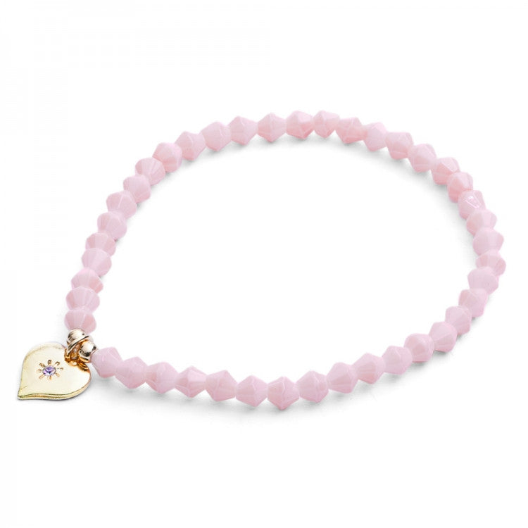 Lovett & Co. Tiny Sparkle Bead Bracelet Rose, L&C-Lovett & Co., Putti Fine Furnishings