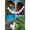 """Just Married"" Bunting -  Party Supplies - Talking Tables - Putti Fine Furnishings Toronto Canada - 4"