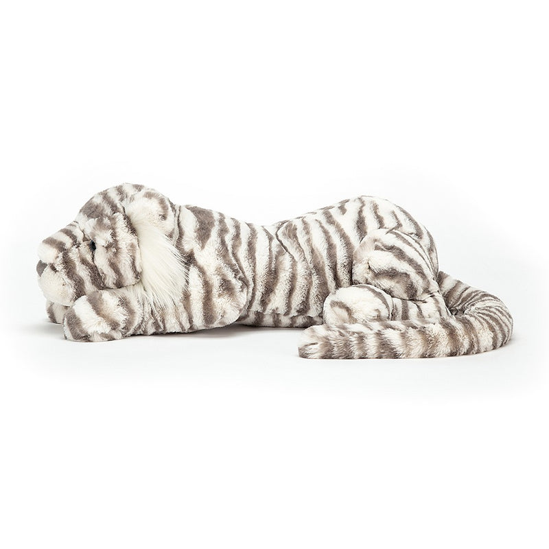 "Jellycat ""Sacha"" Snow Tiger Soft Toy  