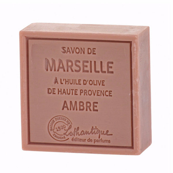 Lothantique Savon Marseille Soap 100g - Amber -  Personal Fragrance - LO-Lothantique - Putti Fine Furnishings Toronto Canada