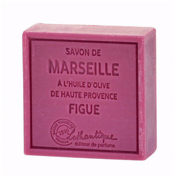 Lothantique Savon Marseille Soap 100g - Figue -  Personal Fragrance - LO-Lothantique - Putti Fine Furnishings Toronto Canada