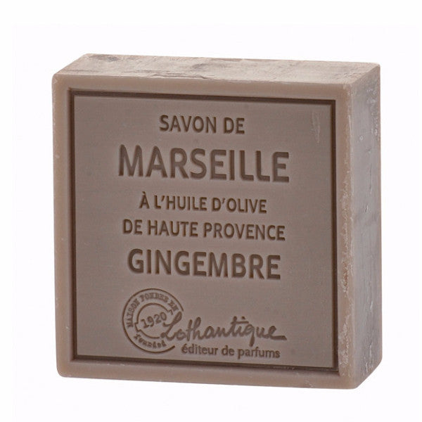 Lothantique Savon Marseille Soap 100g - Ginger -  Personal Fragrance - LO-Lothantique - Putti Fine Furnishings Toronto Canada