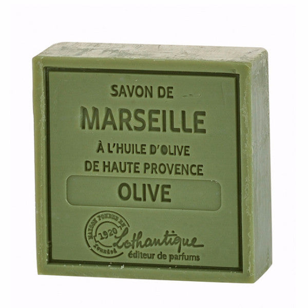 Lothantique Savon Marseille Soap 100g - Olive -  Personal Fragrance - LO-Lothantique - Putti Fine Furnishings Toronto Canada