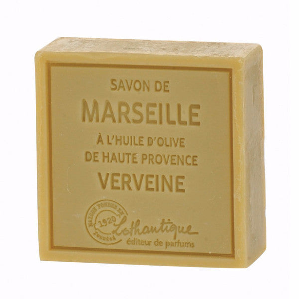 Lothantique Savon Marseille Soap 100g - Verbena -  Personal Fragrance - LO-Lothantique - Putti Fine Furnishings Toronto Canada