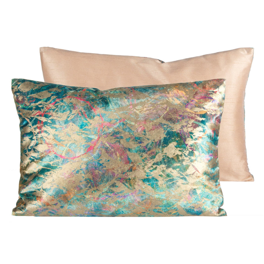 Confetti Multicolor Velvet Pillow
