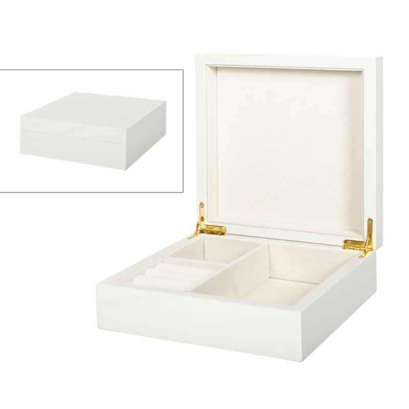 Light grey Jewellery Box - Small