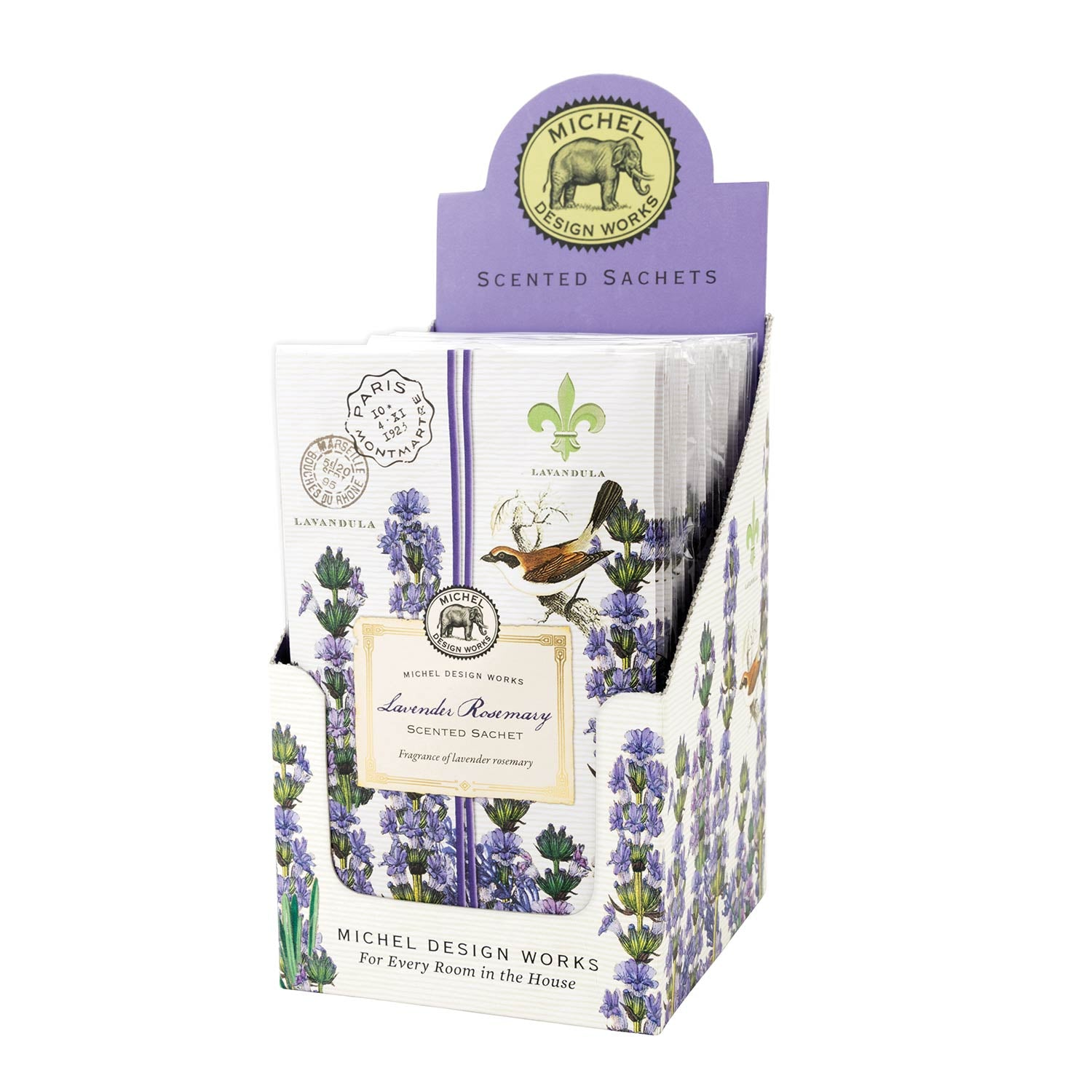 Michel Design Lavender and Rosemary Scented Sachet - Putti Fine Furnishings Canada