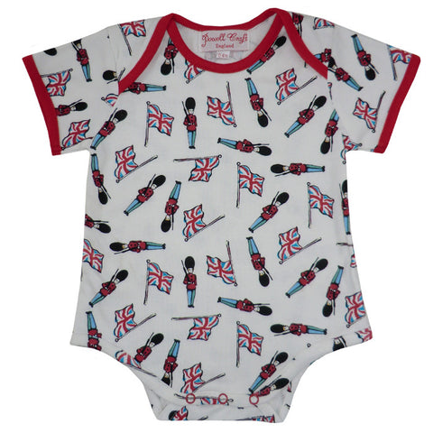 Soldier Baby Grow-Children's Clothing-PC-Powell Craft Uk-0 to 6 month-Putti Fine Furnishings