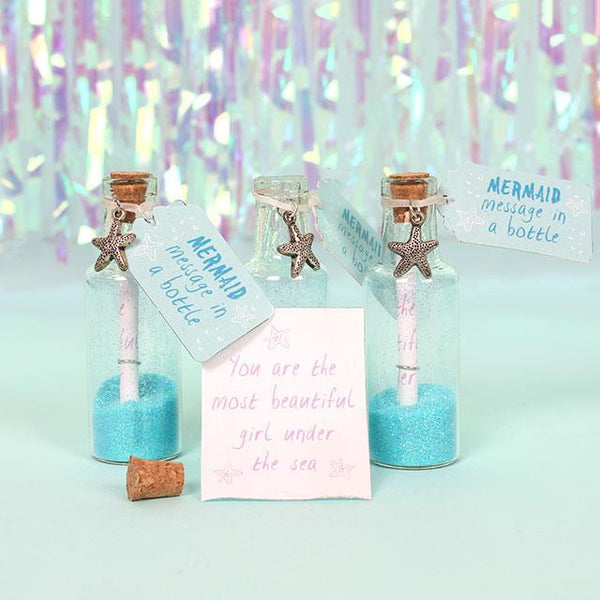 Mermaid Message in a Bottle