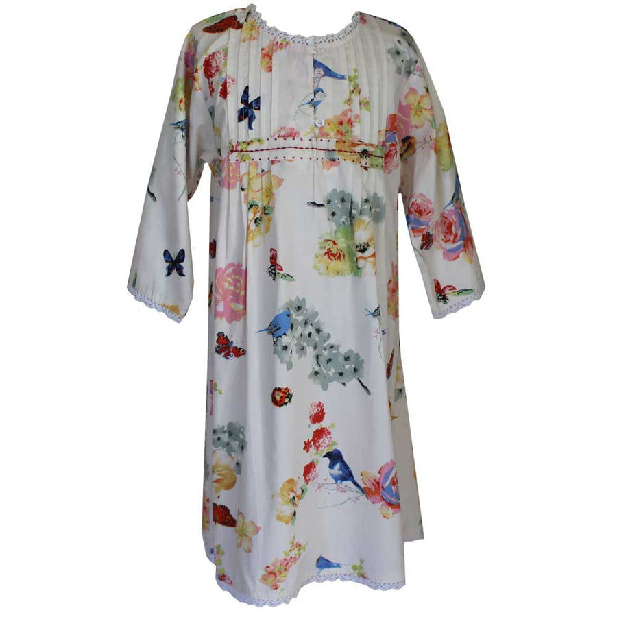 """Secret Garden"" Girls Night Dress"