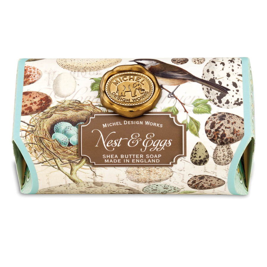 Nest & Eggs Large Soap Bar