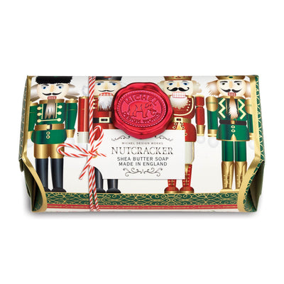 Michel Design Works Nutcracker Large Soap Bar | Putti Christmas Canada