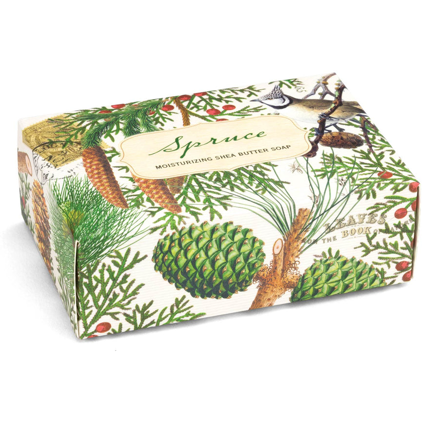 Spruce Single Boxed Soap