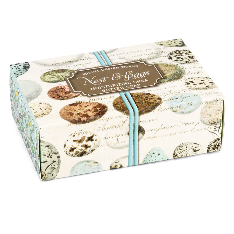 Michel Design Nest & Eggs Boxed Single Soap -  Putti Fine Furnishings  Canada