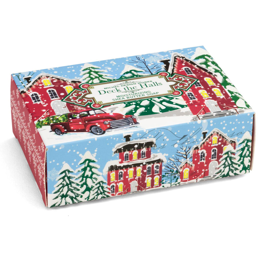 Deck the Halls Boxed Soap