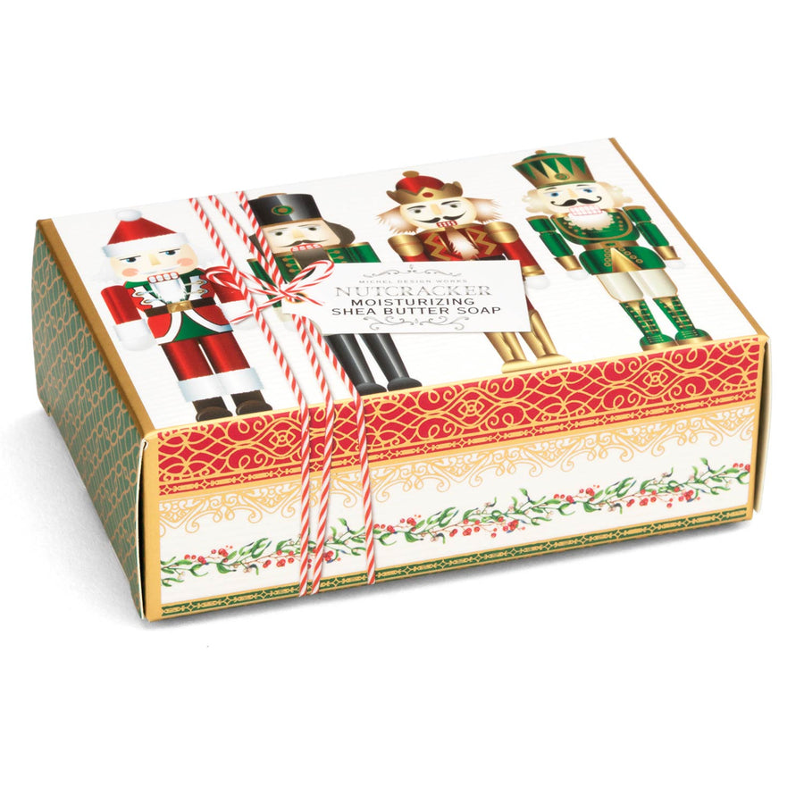 Nutcracker Single Boxed Soap