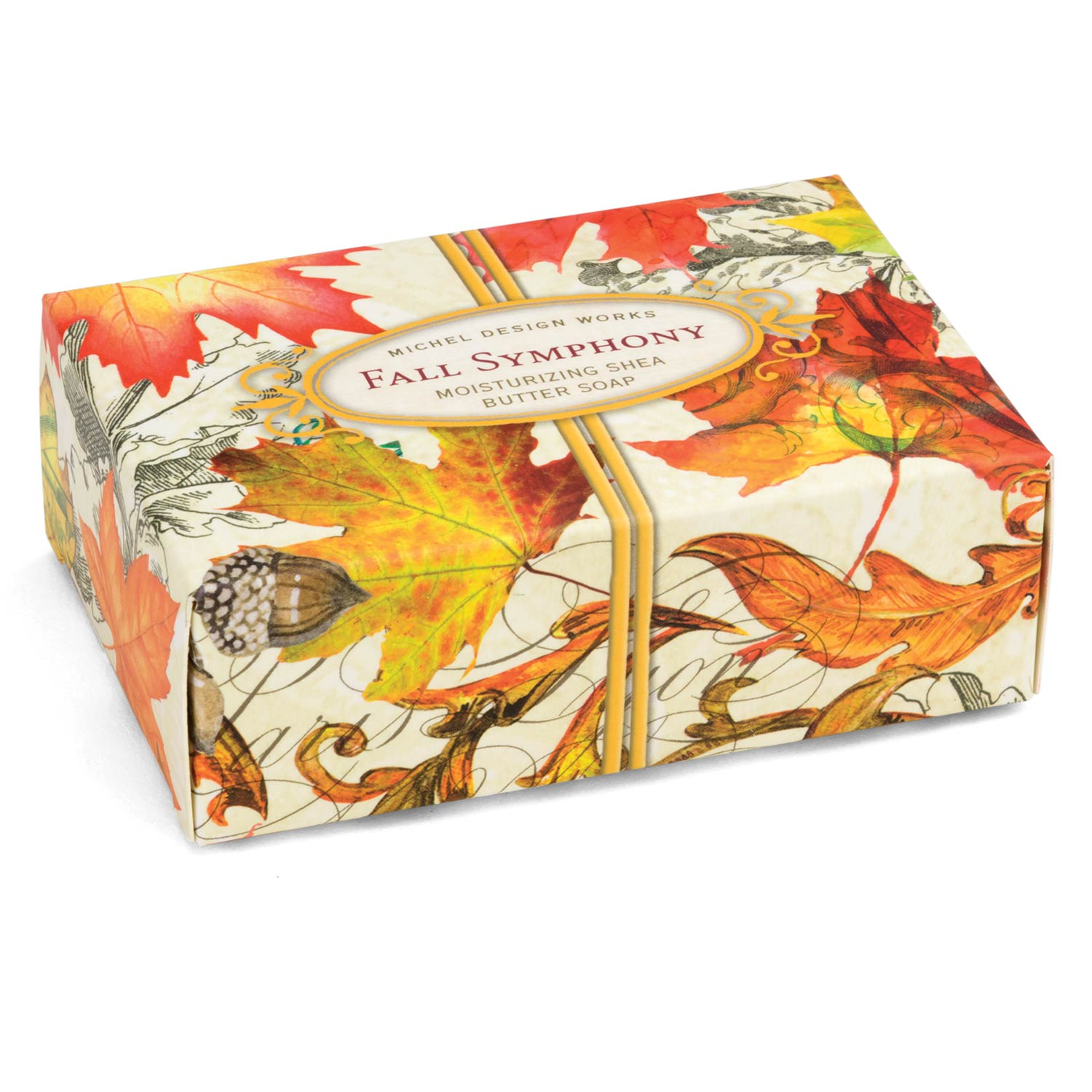Michel Design Fall Symphony Boxed Single Soap Putti Fine Furnishings