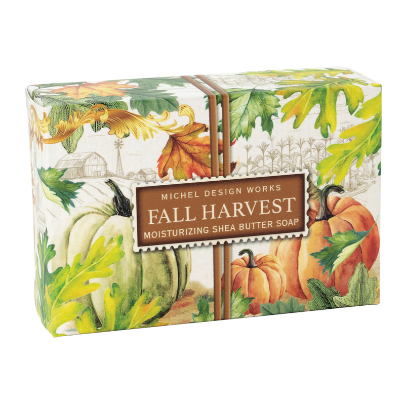 Michel Design Works Fall Harvest Boxed Single Soap | Putti Canada
