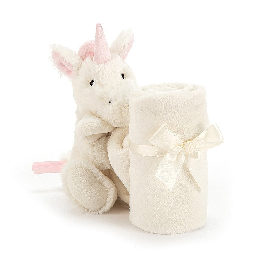 "Jellycat ""Bashful Unicorn"" Soother"