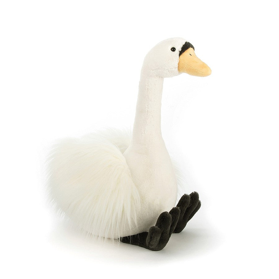"Jellycat - Solange Swan - Medium 17"" ( Arriving mid February) Children's Toys - Jellycat - Putti Fine Furnishings Toronto Canada - 1"