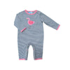 Albetta Crochet Flamingo Babygrow, AUK-Albetta UK, Putti Fine Furnishings