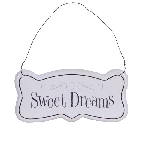 Sweet Dreams Hanging Sign-Accessories-Coach House-Putti Fine Furnishings