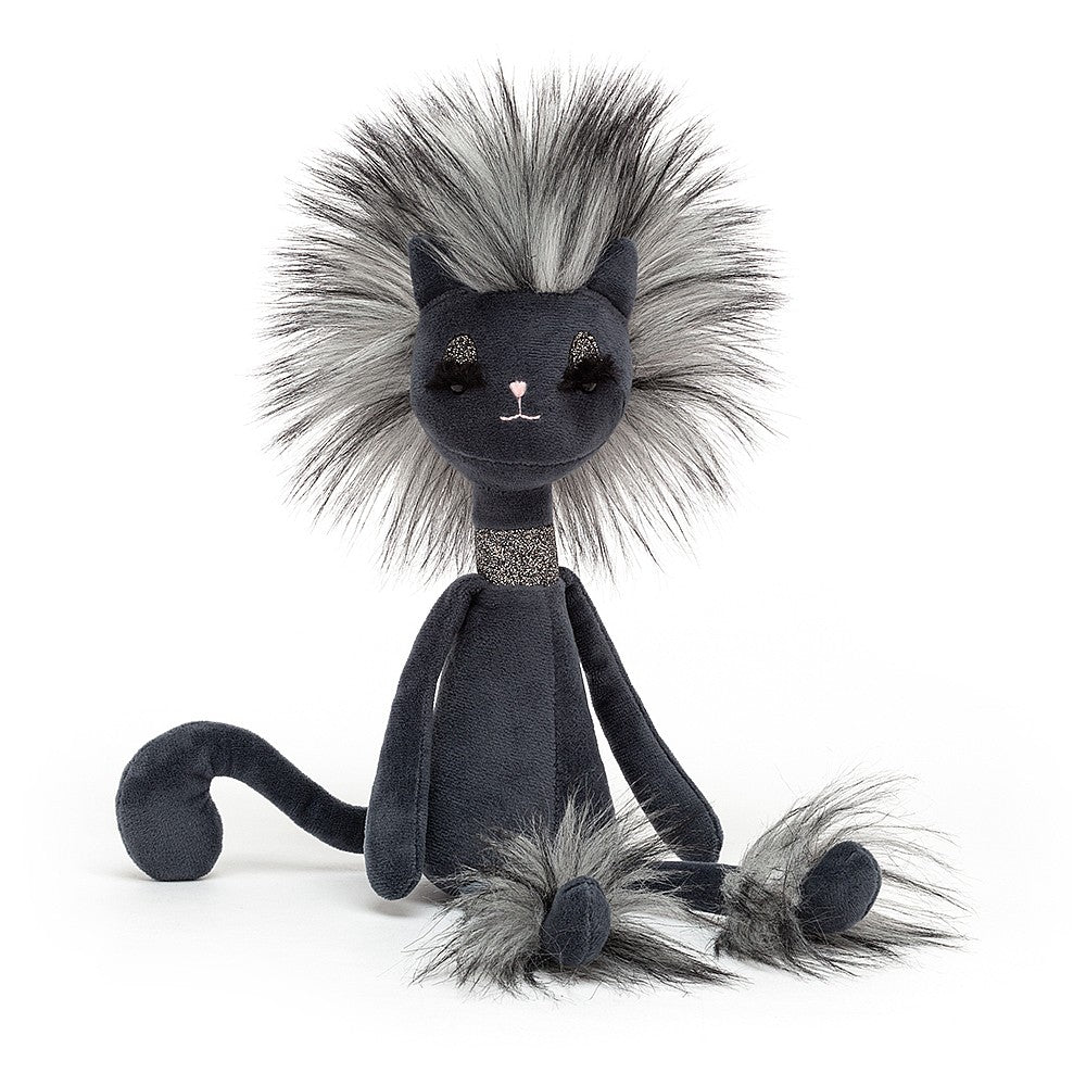 "Jellycat ""Swellegant Kitty"" Cat Stuffed Toy 
