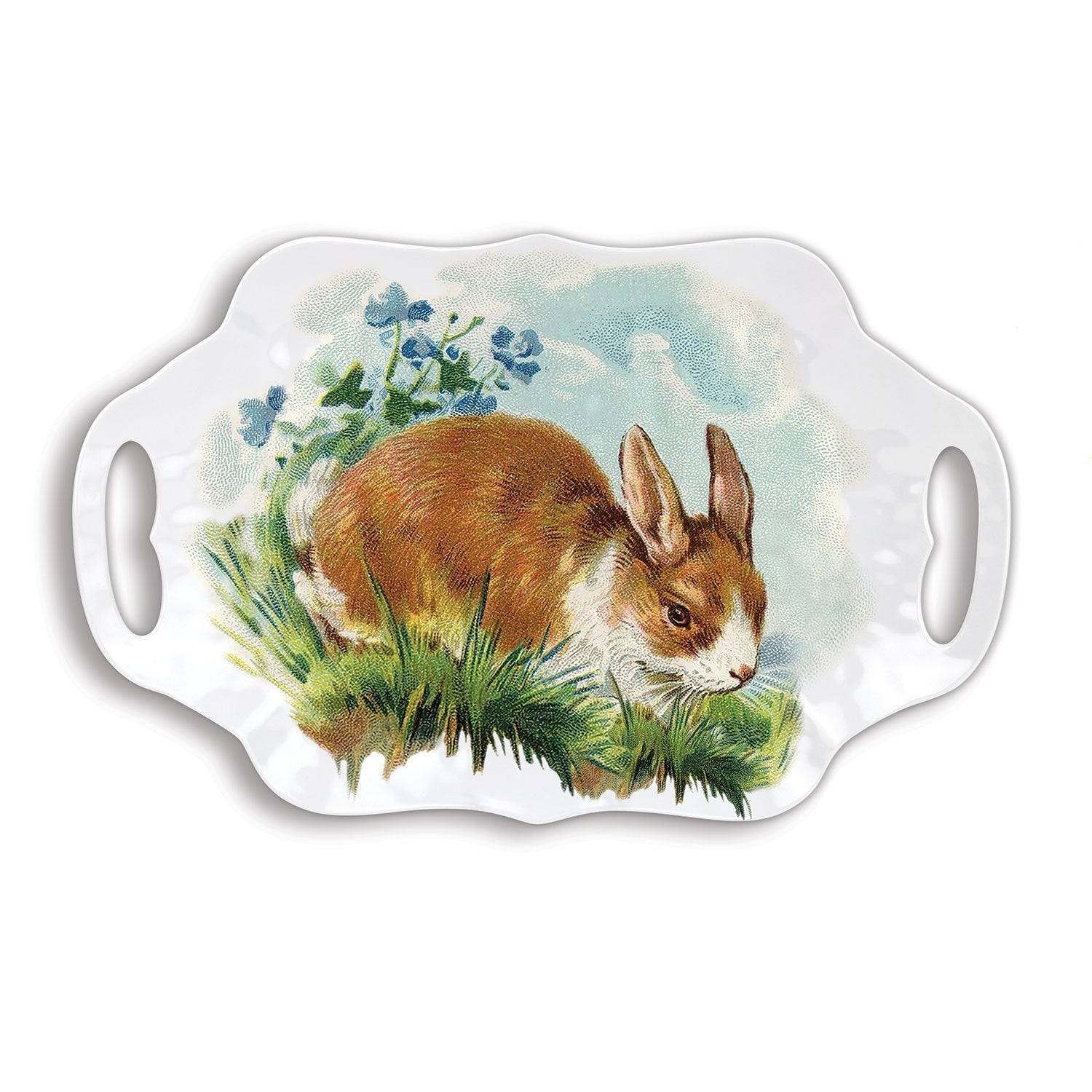 "Michel Design Works ""Bunny Hollow"" Serving Tray  