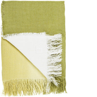 Designers Guild Saraille Acacia Throw-Soft Furnishings-DG-Designers Guild-Acacia-Putti Fine Furnishings