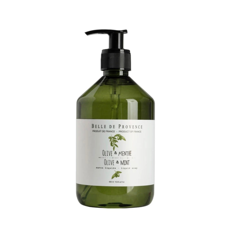 Belle de Provence Liquid Soap - Olive Mint