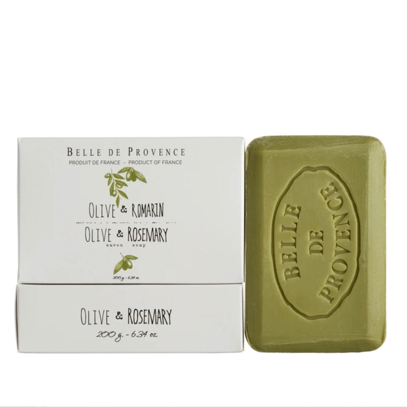 Belle de Provence Bar Soap 200g - Olive Rosemary