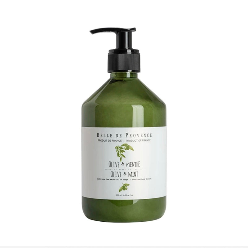 Belle de Provence Body Lotion - Olive MInt | Putti Canada
