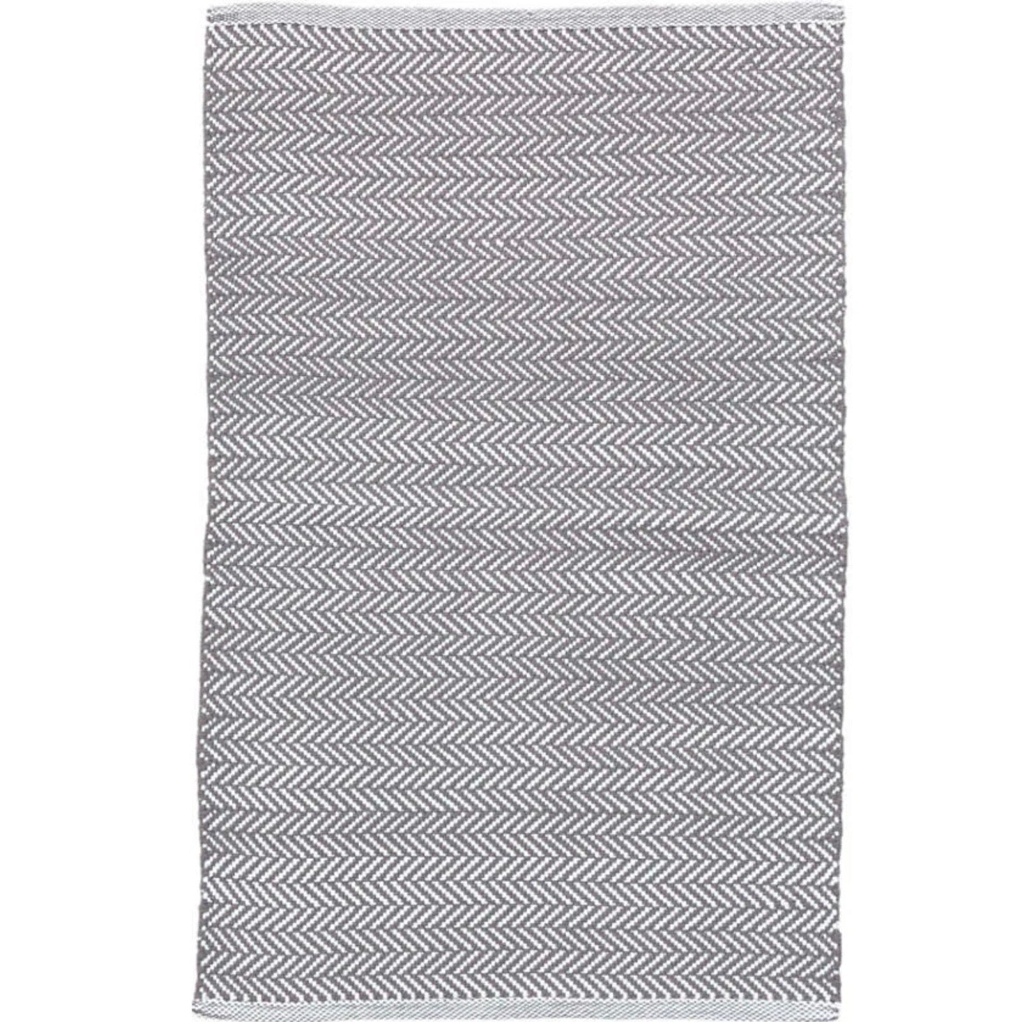 Herringbone Indoor Outdoor Rug - Shale
