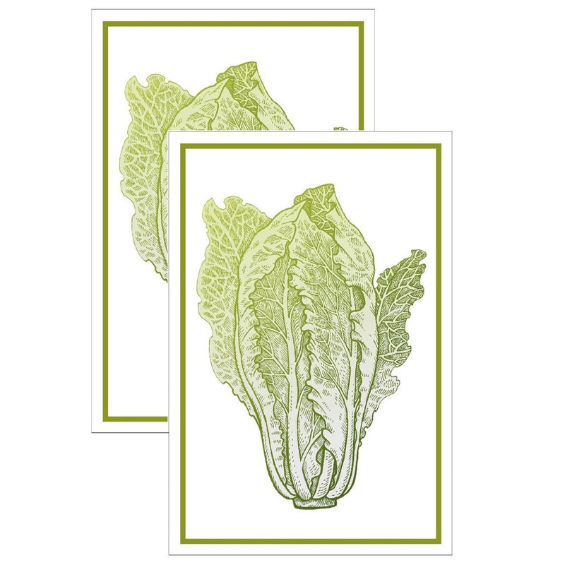 Lettuce Flour Sack Kitchen Towel - Set of 2 |Putti Fine Furnishings