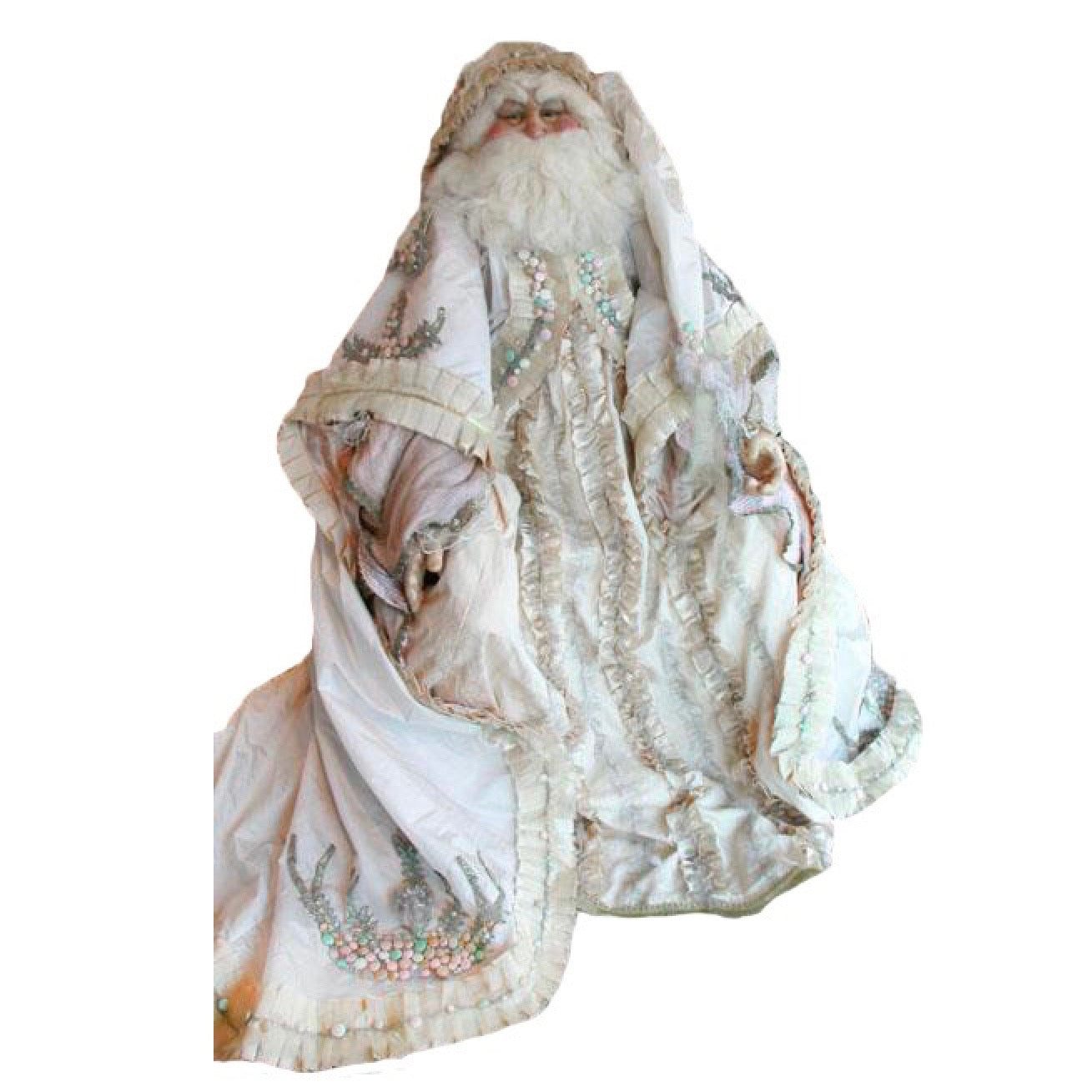 Katherine's Collection Pastel Life Size Santa Doll | Putti Christmas Canada